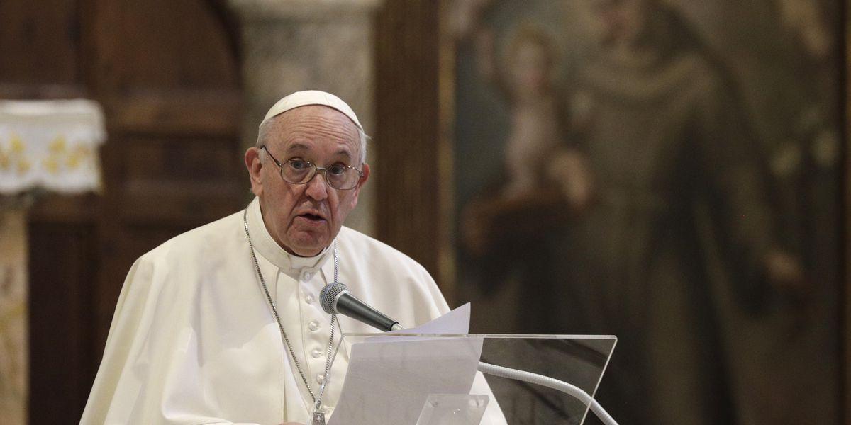 Pope endorses same-sex civil unions in new documentary film