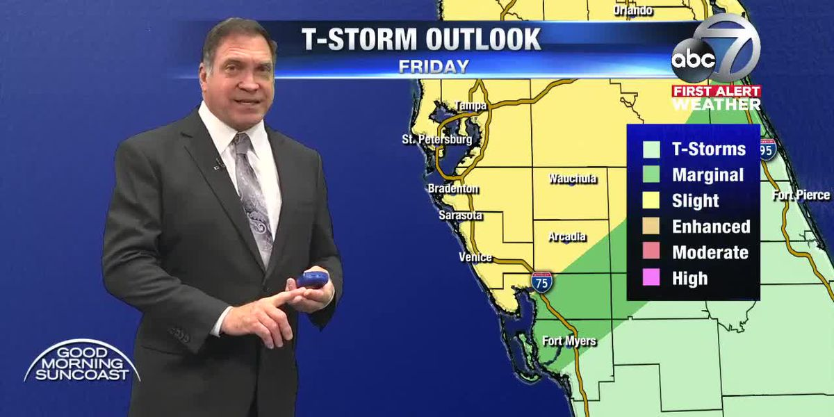 First Alert Weather: Possible strong storms Friday, but timing uncertain
