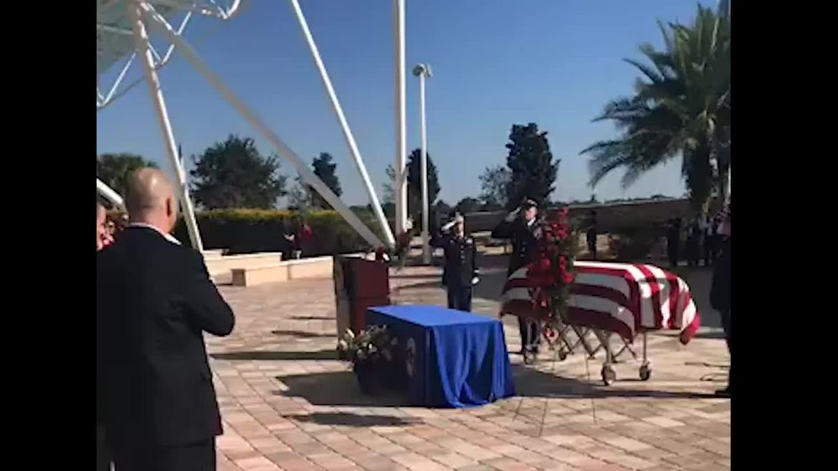 Bradenton soldier killed in training accident laid to rest at Sarasota National Cemetery