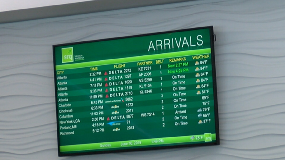 Recent report ranks SRQ among the top in fastest growing medium sized airport