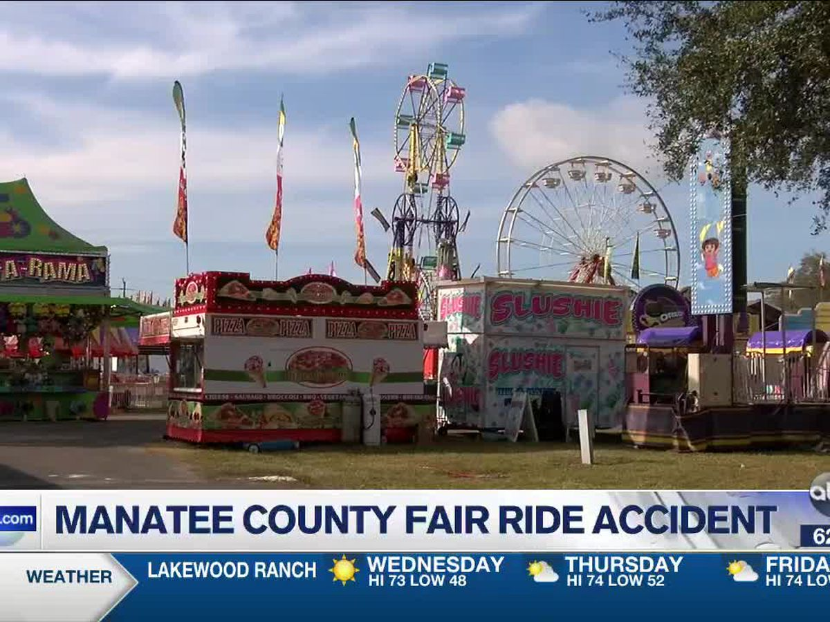 Ride accident reported at Manatee County Fair