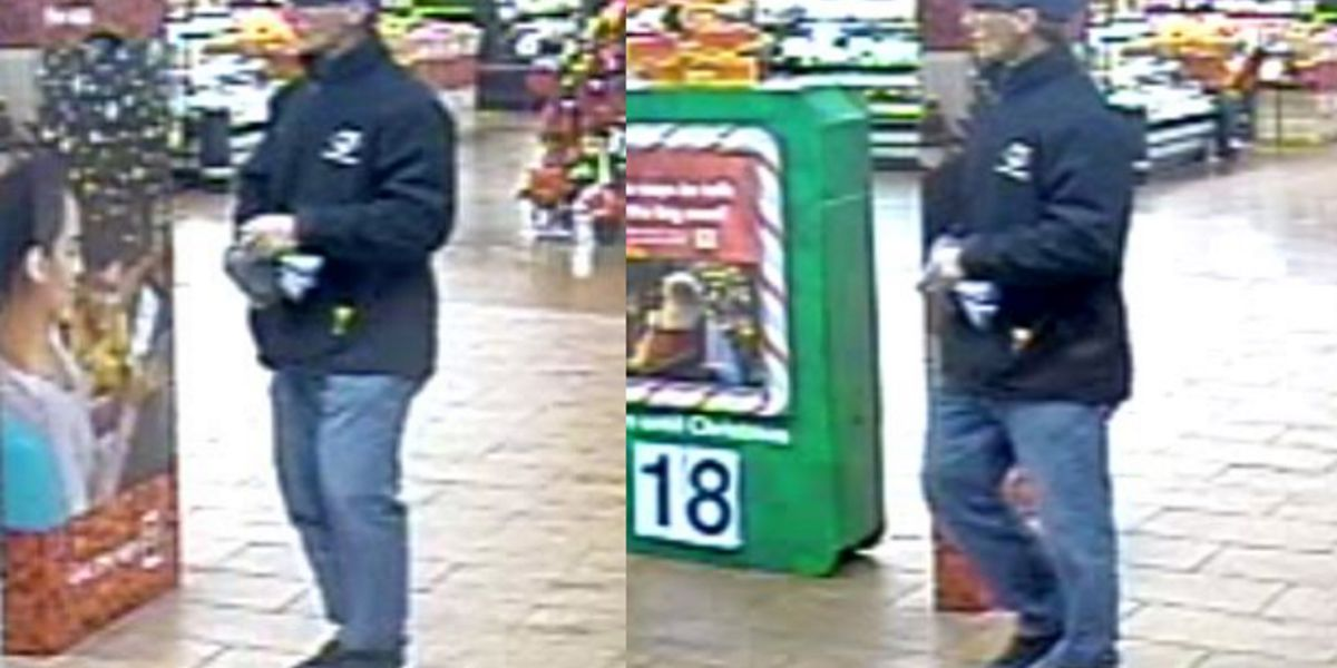 Suspect who used credit card stolen from vehicle sought by police