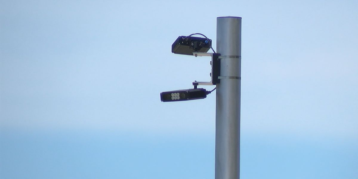 Holmes Beach Police install five new license plate readers