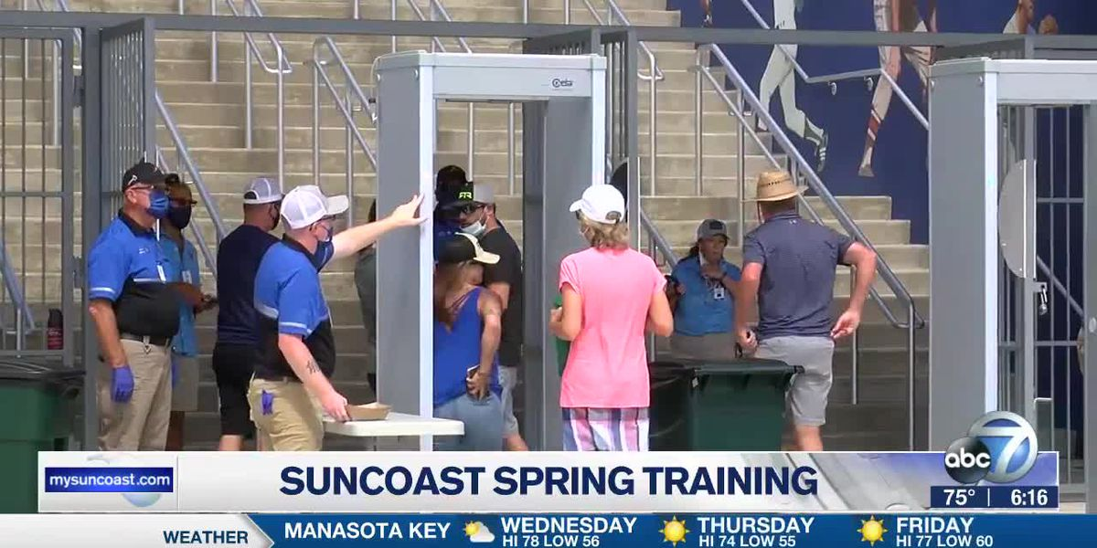 Suncoast spring training