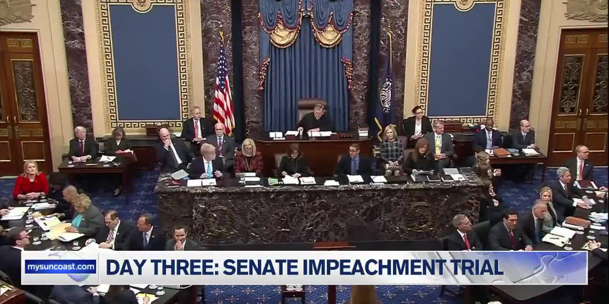 Senate Impeachment Trial: Day Three