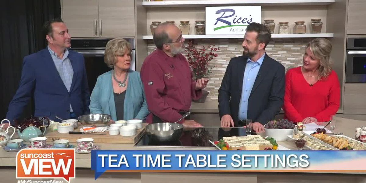 A Lesson in Tea Time from Simply Gourmet Caterers | Suncoast View