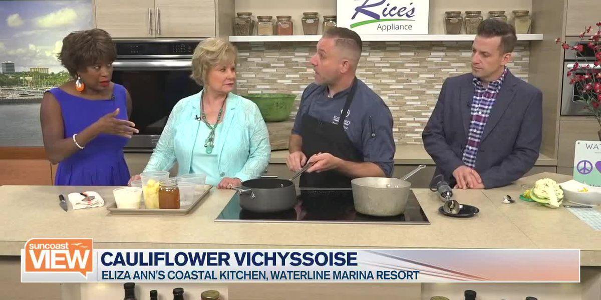 Recipe: Eliza Ann's Coastal Kitchen's Cauliflower Vichyssoise   Suncoast View