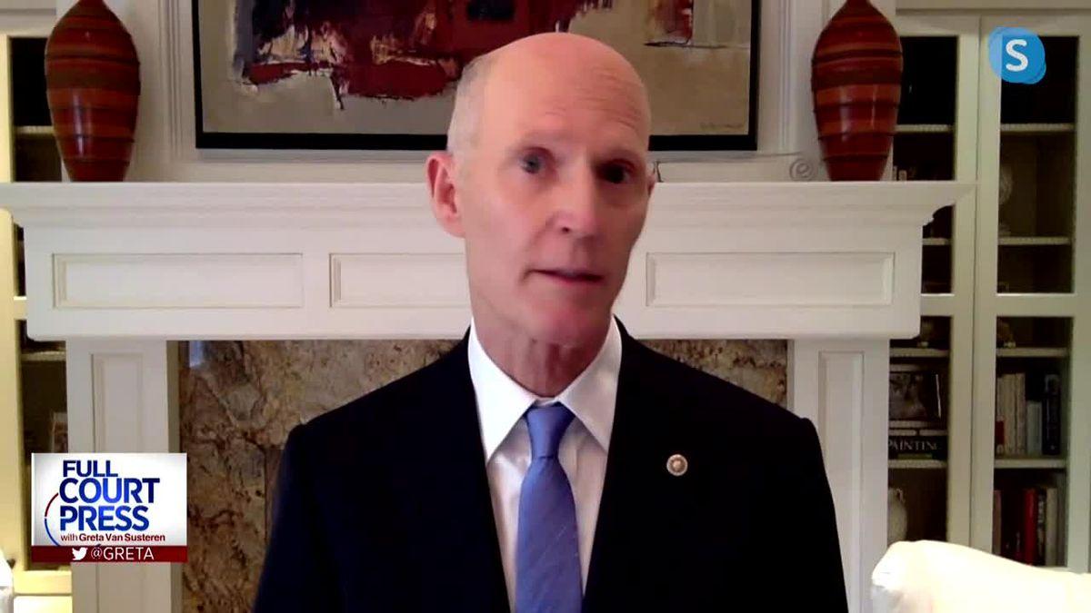 Sen. Rick Scott traveling to Pensacola amid Sally impacts