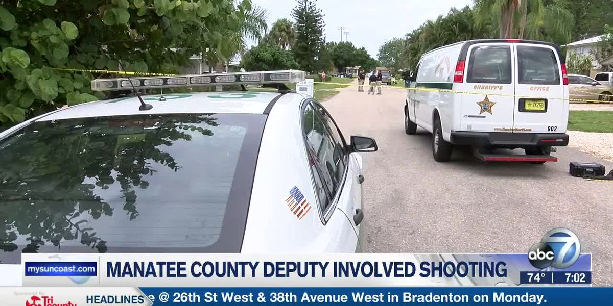 Manatee County Deputy Involved Shooting - 7pm Report