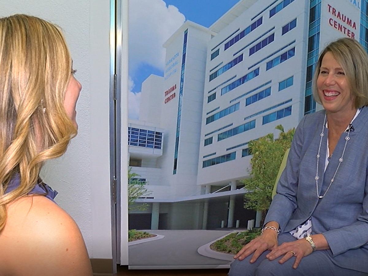 Meet Sharon Roush: The President of the Future Sarasota Memorial Hospital in Venice