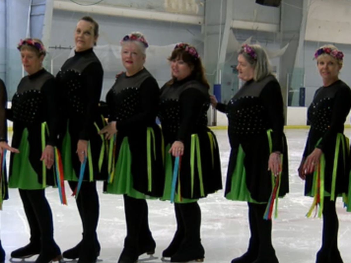 A unique ice skating group in Ellenton is heading to a national competition.