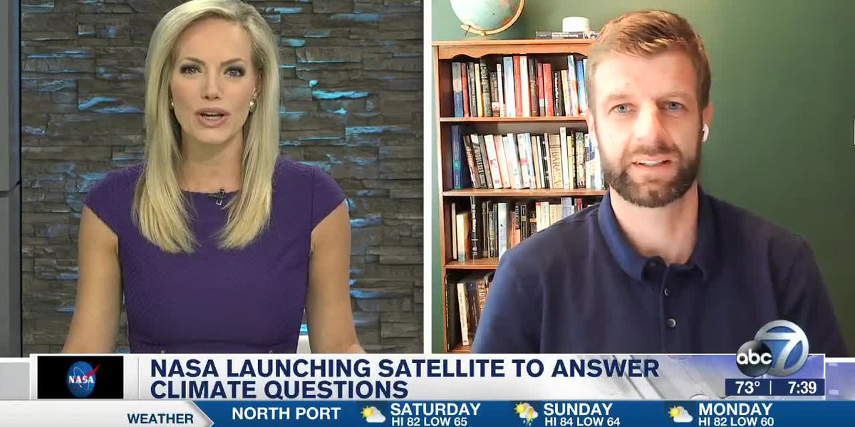 NASA Research Scientist discusses Saturday's Satellite Launch
