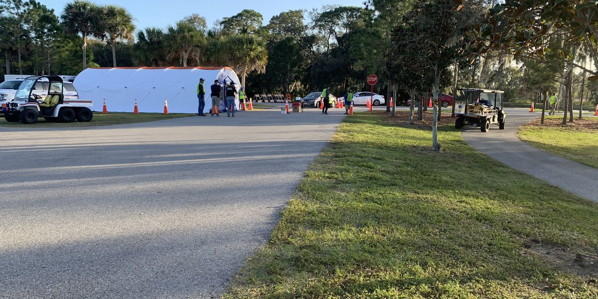 Manatee County to hold FINAL first-dose clinic at Tom Bennett Park today