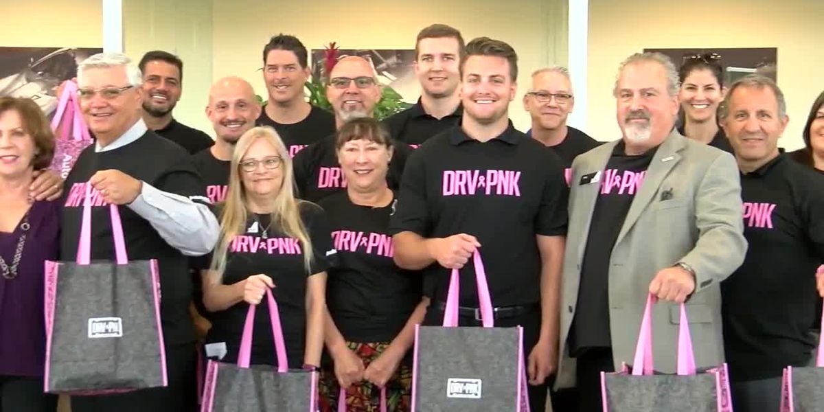 """Drive Pink Across America"" Day celebrated on the Suncoast"