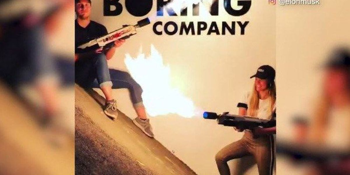 Elon Musk sells out of his $500 flamethrowers