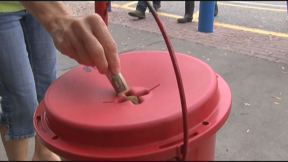 VIDEO: Donations down, Salvation Army urging for support during the holidays