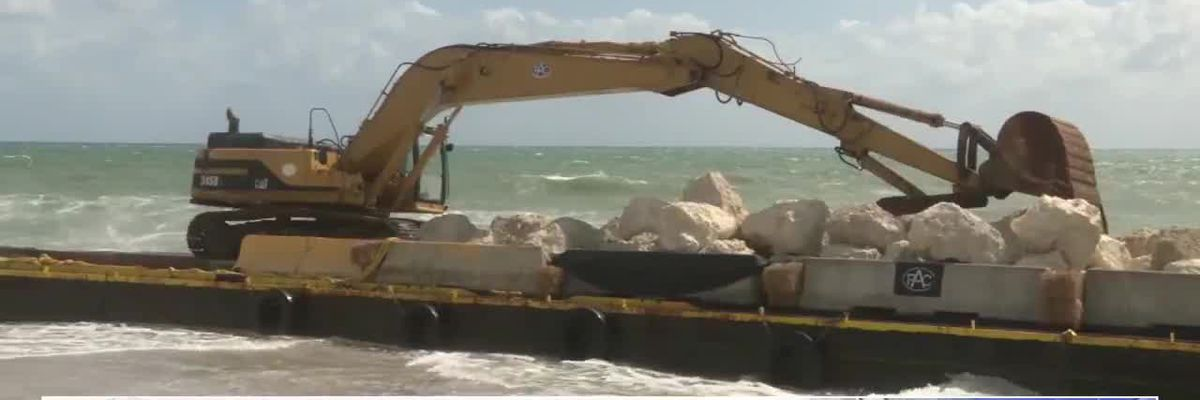 FL Barge Grounded