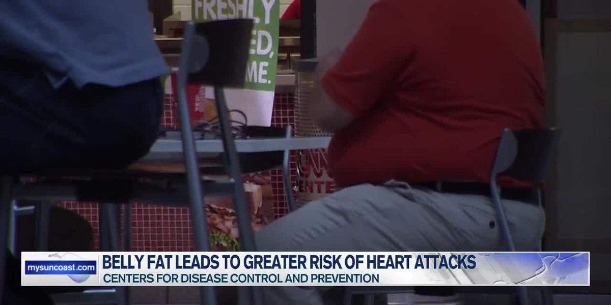 Belly Fat Leads to Greater Risk of Heart Attacks