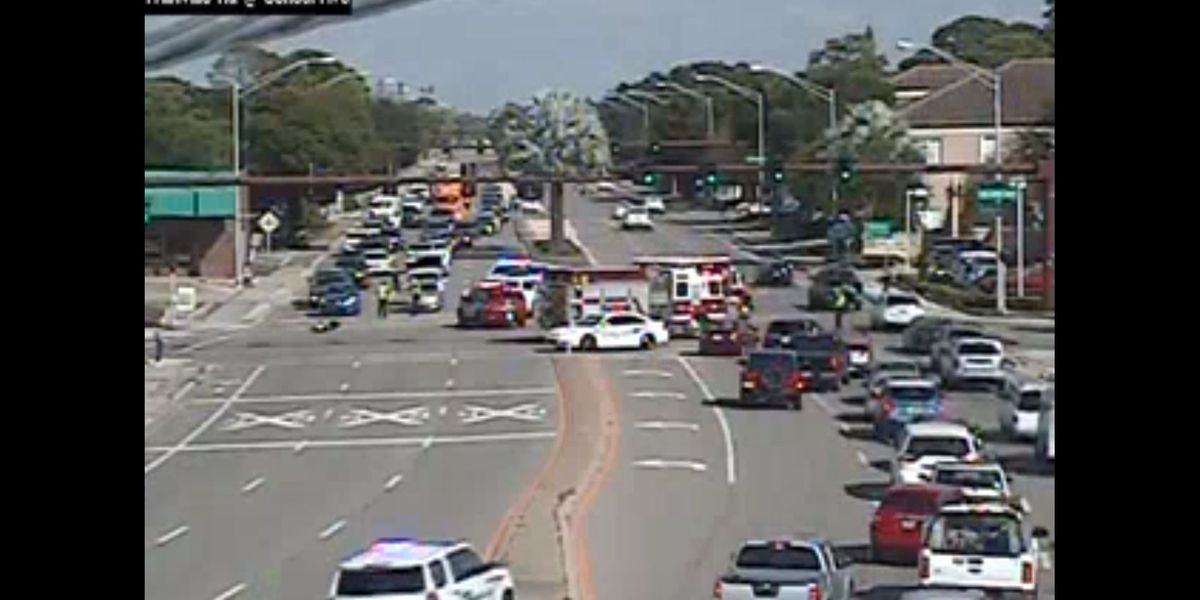 First Alert Traffic: Accident involving moped on Fruitville Rd in Sarasota