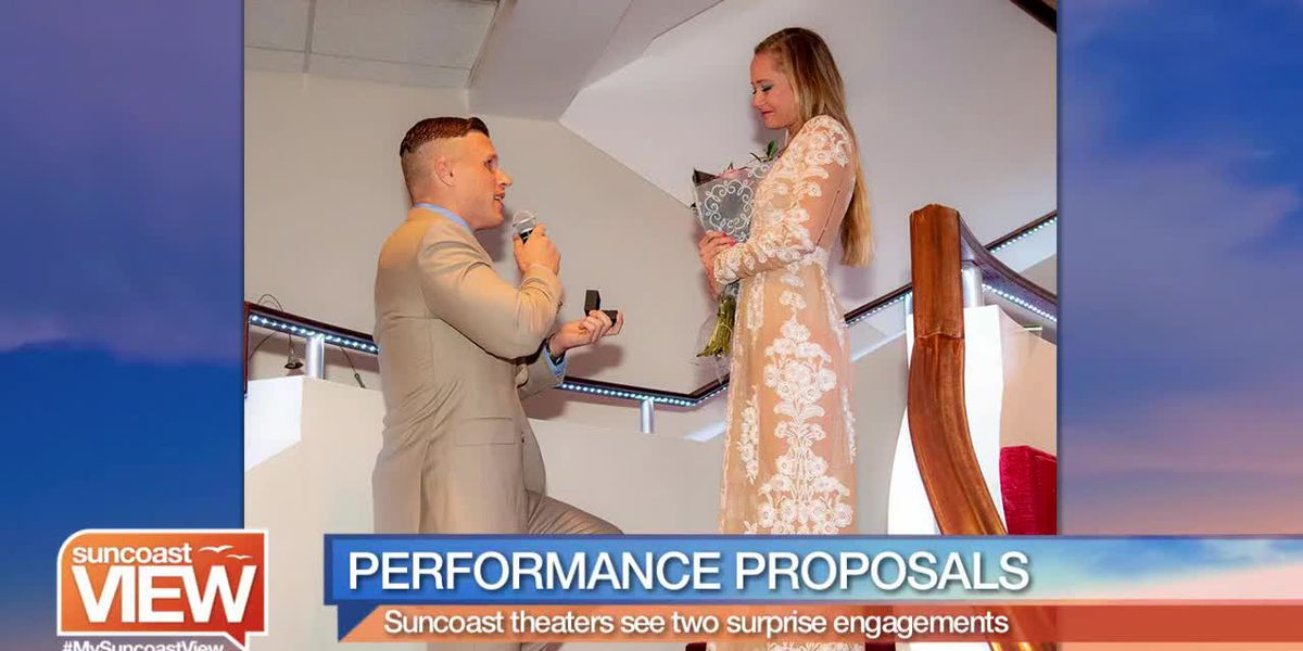 Two Adorable Proposals from Our Suncoast Theatres! | Suncoast View