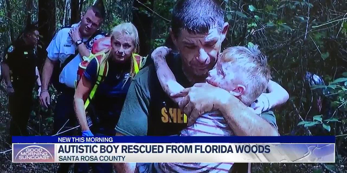 Autistic boy rescued from Florida woods