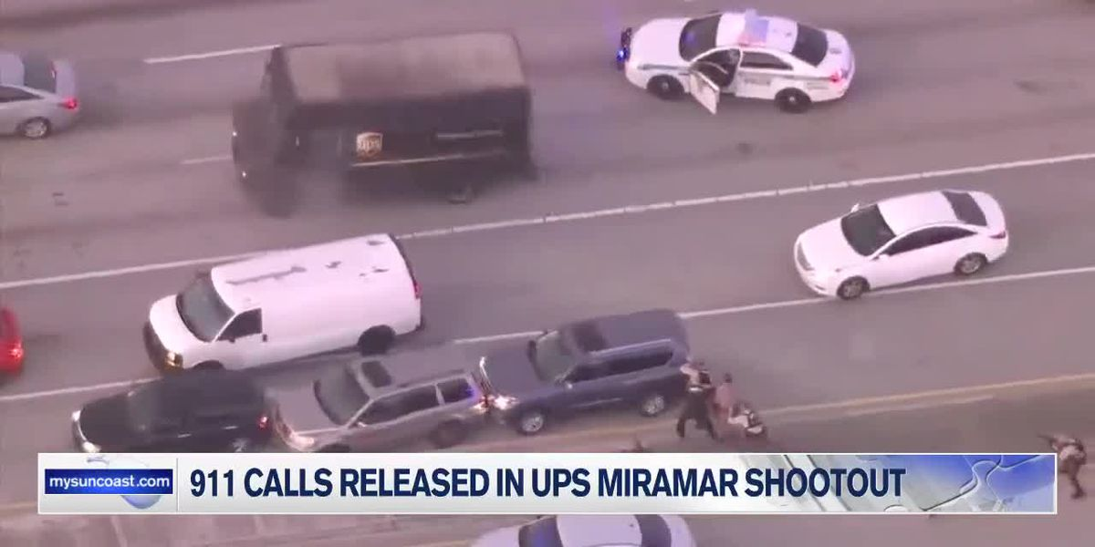 9-1-1 Calls Released from Miramar Shootout