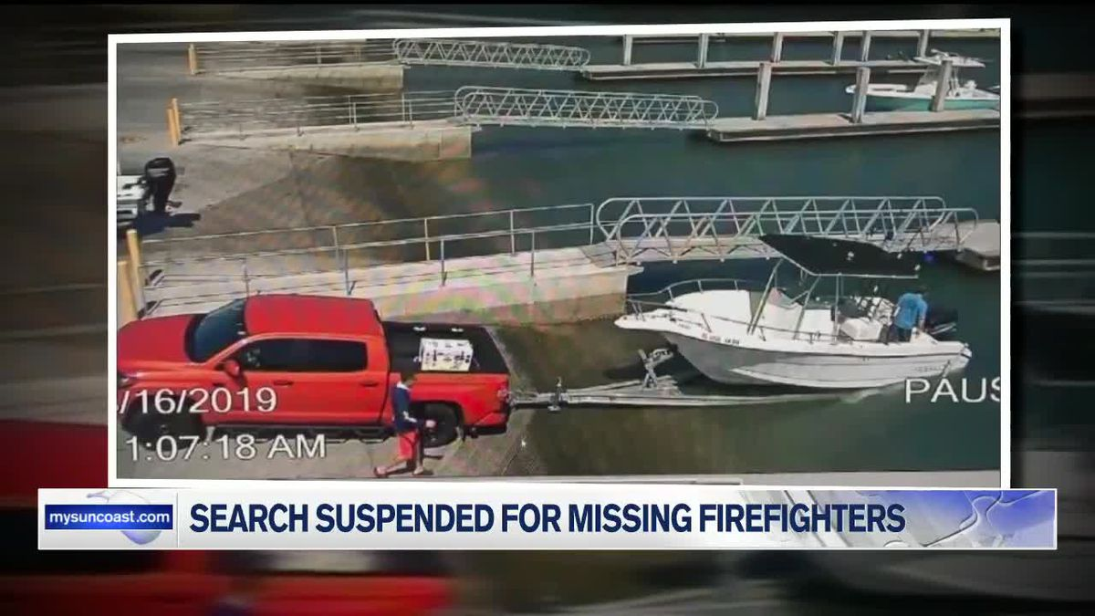 Search Suspended for Missing Firefighters