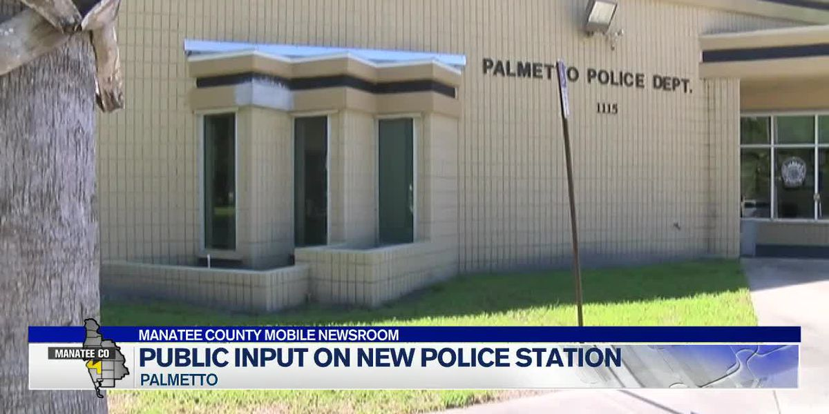 Community provides input on new Palmetto Police Station