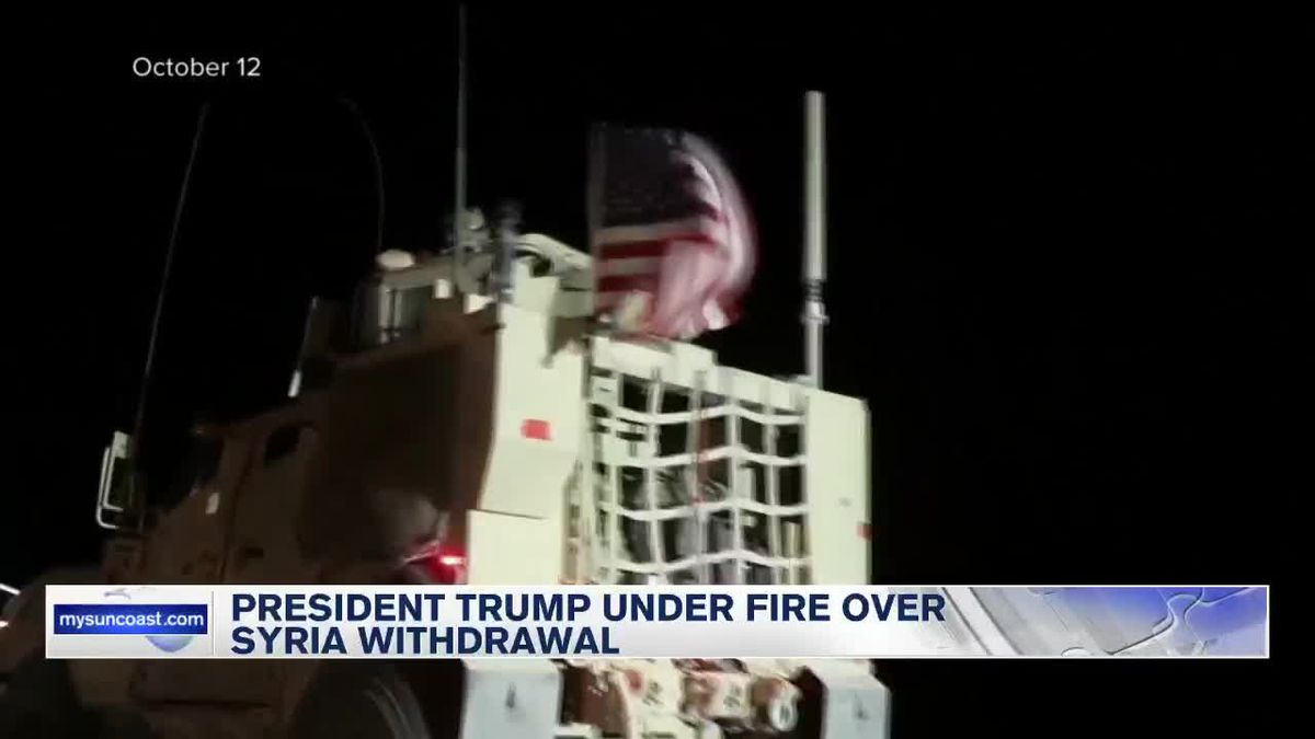 President Trump Under Fire Over Syria Withdrawl