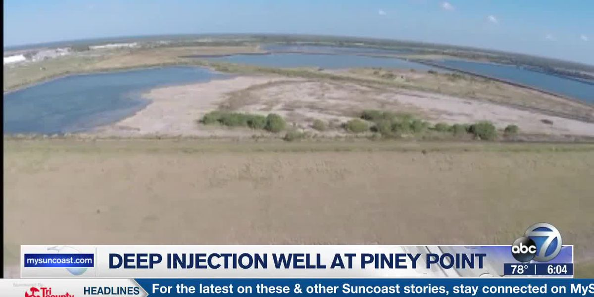Deep injection well at Piney Point
