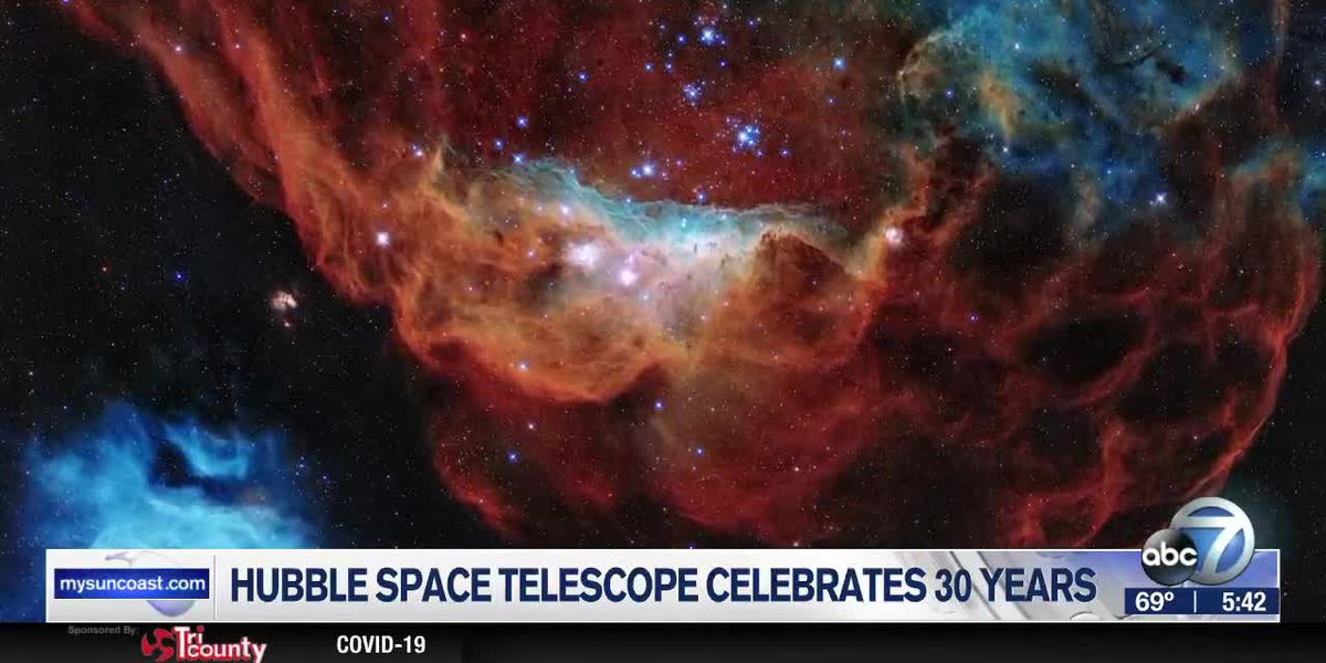 Hubble Space Telescope celebrates 30 years of discovery with never-before-seen photo