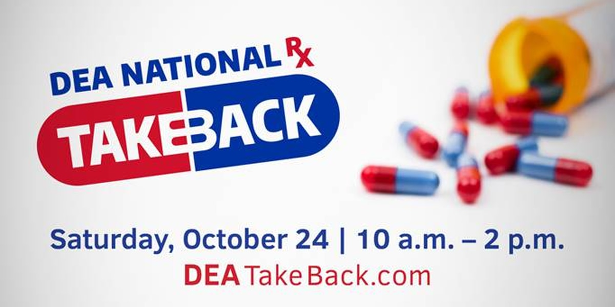 The Venice Police Department will participate in Drug Take Back Day