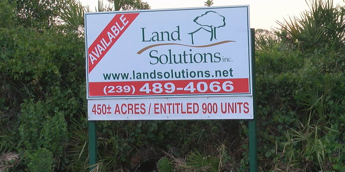Neal Communities plans on building 900 homes on land east of I-75 in Sarasota County