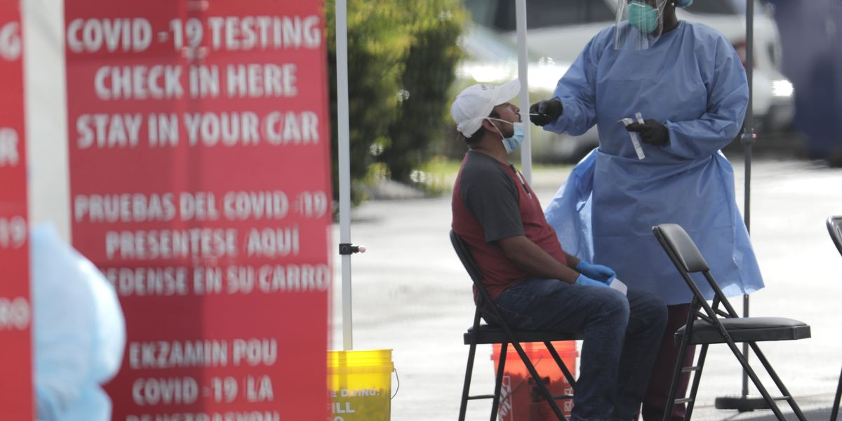 US virus cases top 3 million, Americans face frustrating test delays