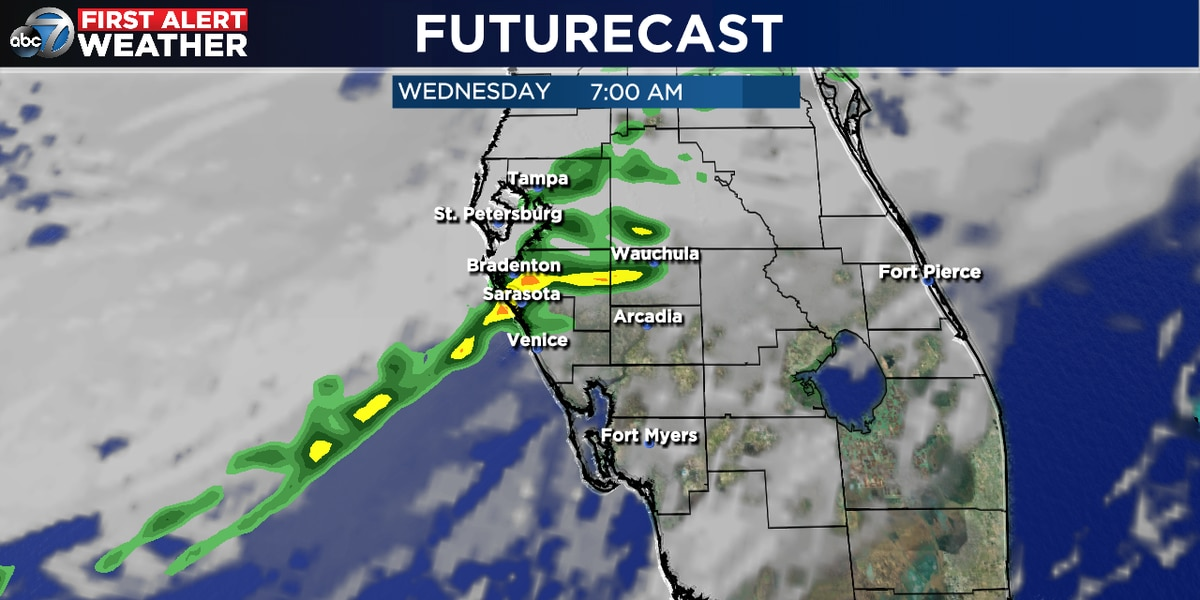 Fog, rain and cooler weather moving in