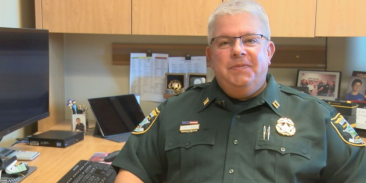 Sarasota County School District swears in new Police Chief for the second time within months