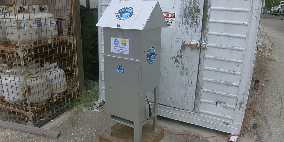 Mote Uses New Machine to Test How Air Quality is Affected By Red Tide Toxins