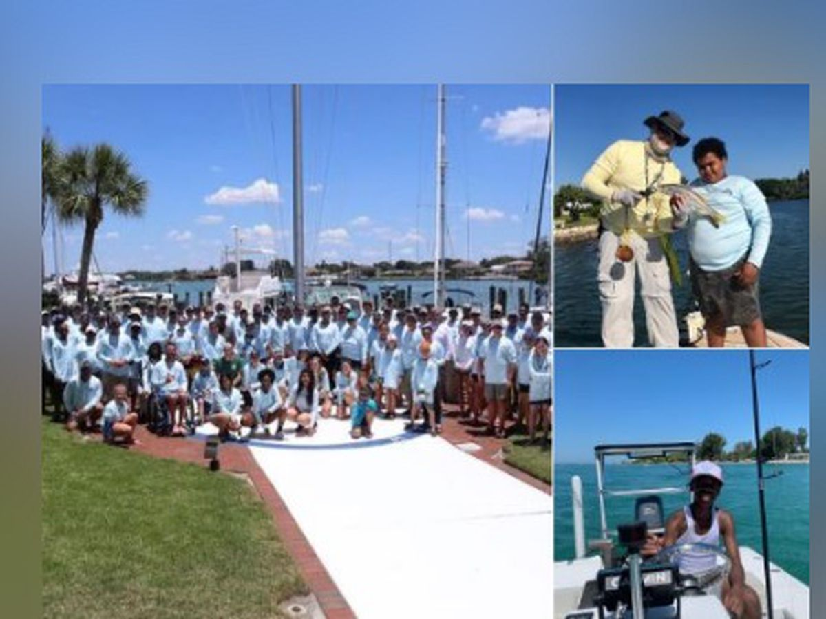 Children spend first time on a boat with law enforcement this Saturday in Venice