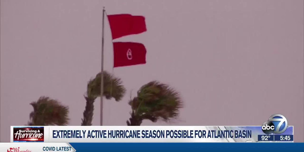 Extremely Active Hurricane Season Possible For Atlantic Basin