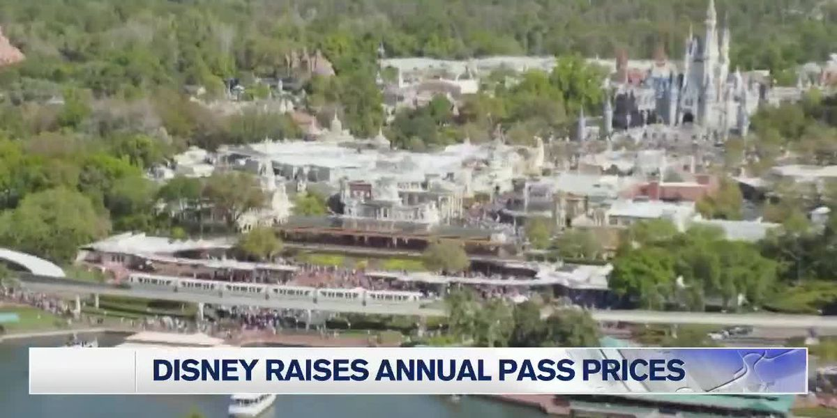 Walt Disney World Resort significantly increases cost of annual park passes