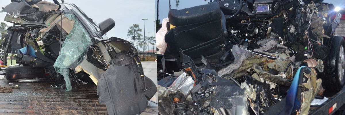 Florida man charged with DUI manslaughter in high speed crash that ripped vehicle in two