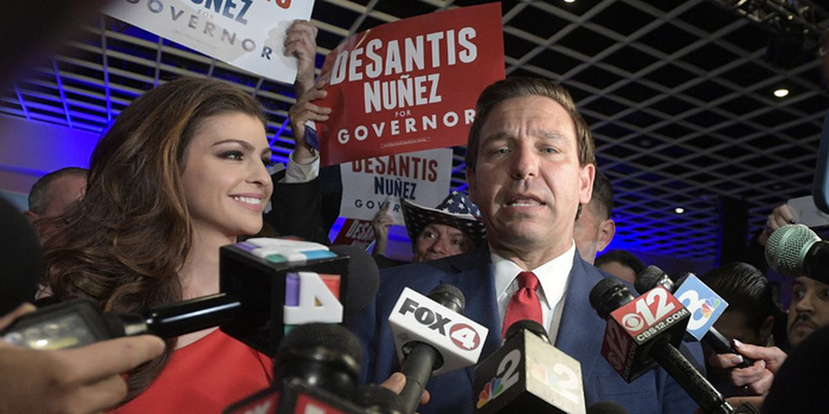 Florida first lady DeSantis takes on mental health issues
