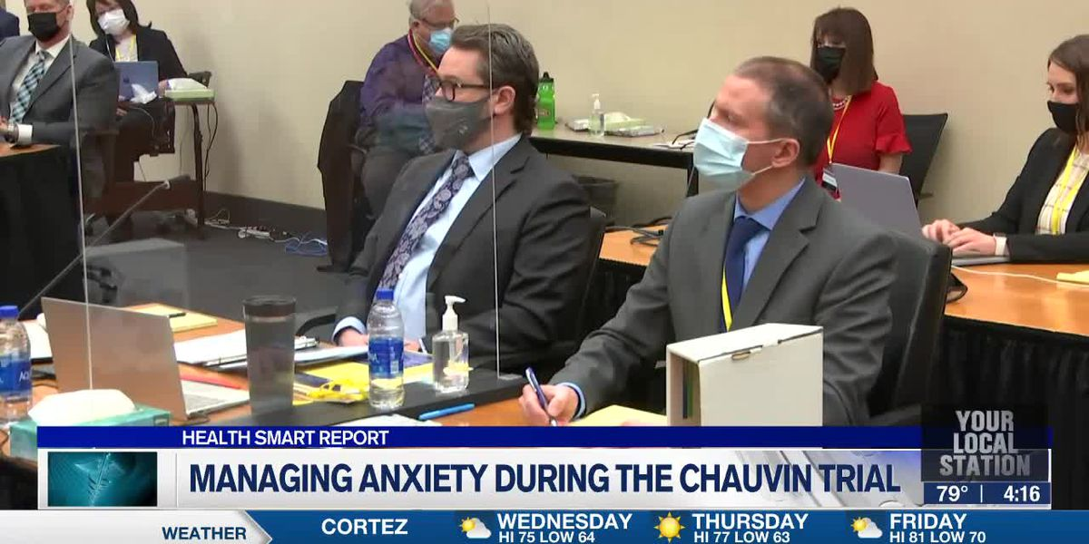 Managing anxiety during the Chauvin trial