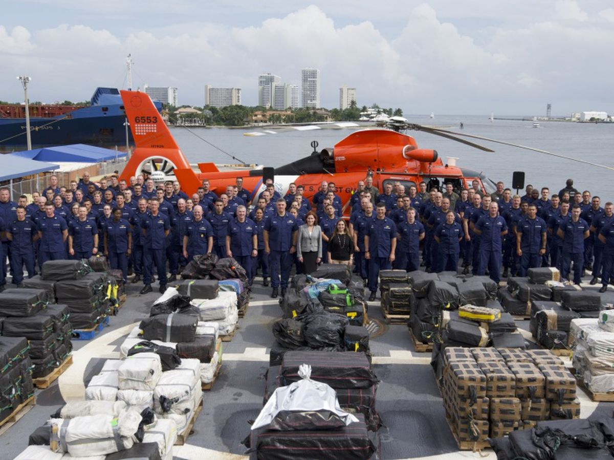 $500 million worth of cocaine seized by the United States Coast Guard