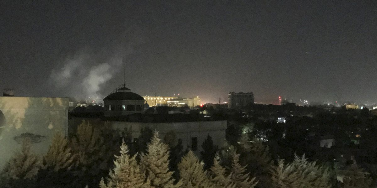 Rocket blast at US Embassy in Kabul on 9/11 anniversary