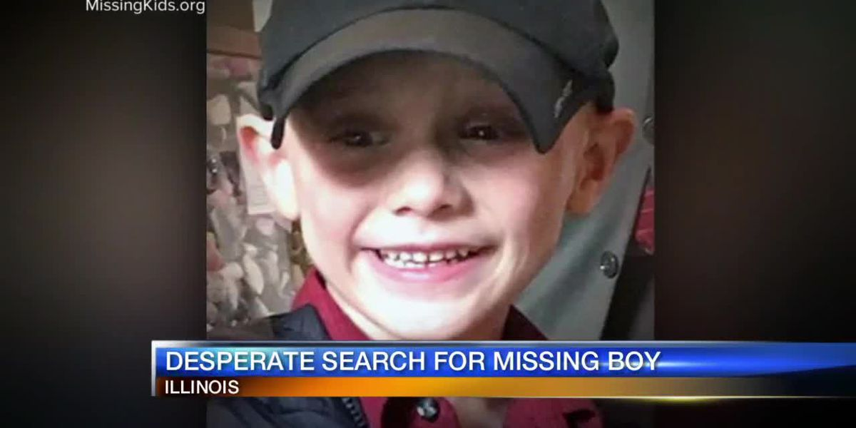 Desperate Search For Missing Boy