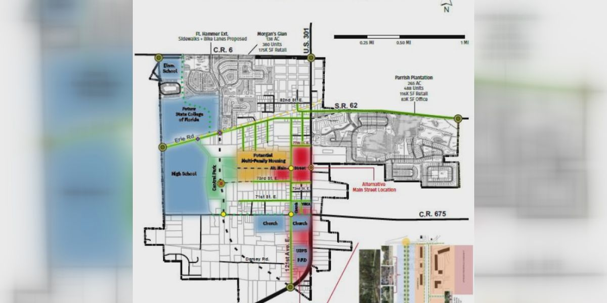 "Manatee County considering new ""Main Street"" development in Parrish"