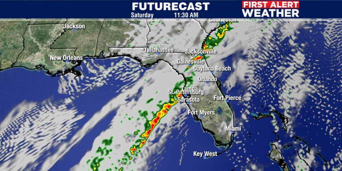 Cold front to bring some rain and cooler weather for weekend