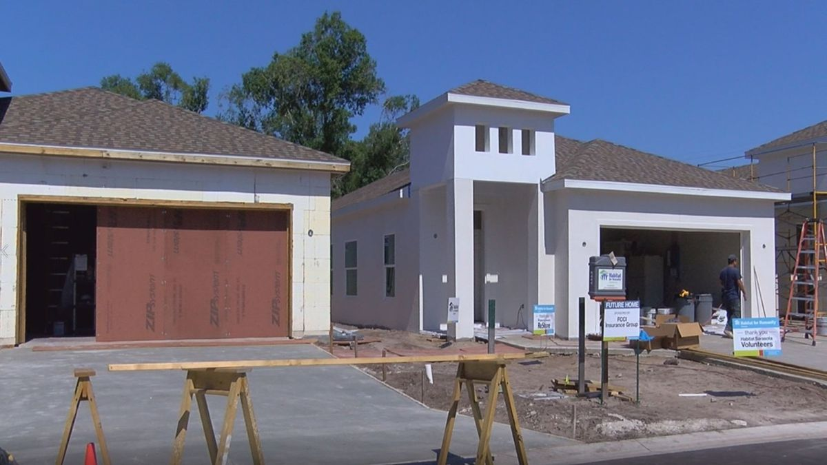 Familiar faces working on the latest Habitat for Humanity project
