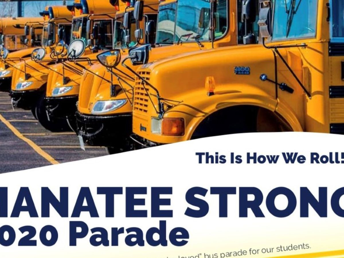Manatee Strong: 'This is how we roll' parade planned for Thursday